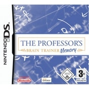 The Professors Brain Trainer Memory Game DS