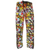 The Simpsons 'Comic Strip' Loungepants XX-Large One Colour