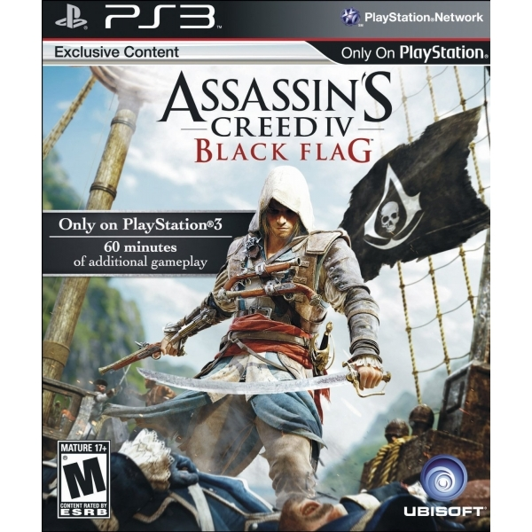 Assassin's Creed IV 4 Black Flag PS3 Game