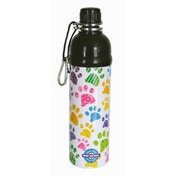 Long Paws Paws Stainless Steel 500ml Pet Water Bottle