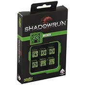 Q-Workshop Shadowrun Decker 6D6 Dice Set