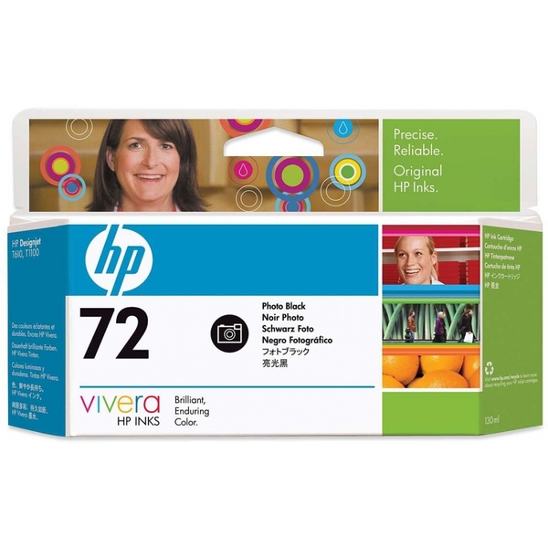HP C9370A (72) Ink cartridge black, 130ml - Image 2