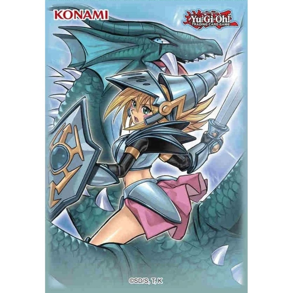 Yu-Gi-Oh! Dark Magician Girl the Dragon Knight Card Sleeves (50 Pack)