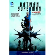 DC Comics Batman Superman Volume 1 The New 52 Cross World Paperback