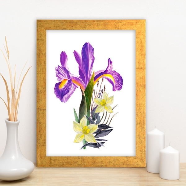 AC2493962685 Multicolor Decorative Framed MDF Painting