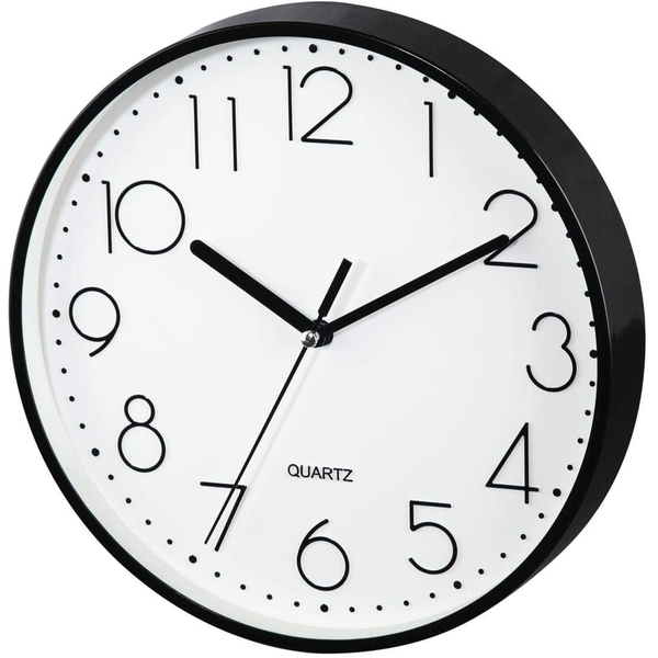 Hama PG-220 Wall Clock Low-noise Black