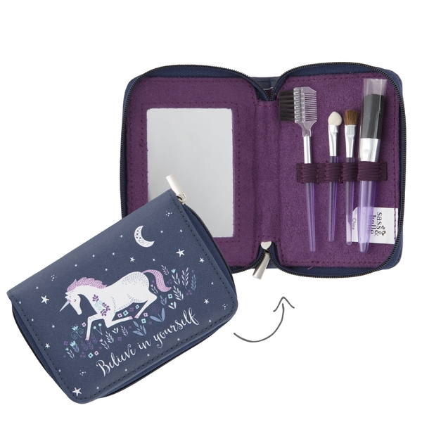 Sass & Belle Starlight Unicorn Cosmetic Brush Set