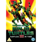 Teenage Mutant Ninja Turtles III Turtles In Time DVD