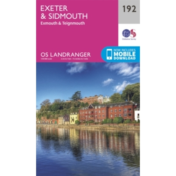 Exeter & Sidmouth, Exmouth & Teignmouth by Ordnance Survey (Sheet map, folded, 2016)
