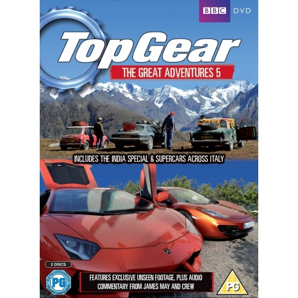 Top Gear The Great Adventures 5 DVD - Image 1