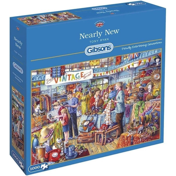 Nearly New Jigsaw Puzzle - 1000 Pieces