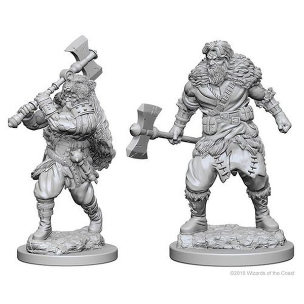 Dungeons & Dragons Nolzur's Marvelous Unpainted Miniatures (W1) Human Male Barbarian