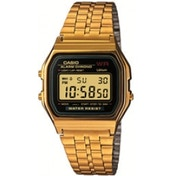 Casio Mens Digital Watch - Gold