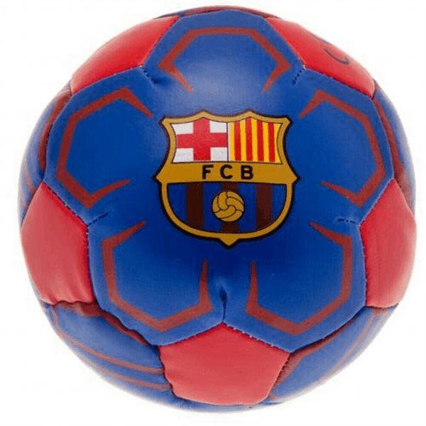 Barcelona Team Merchandise - 4 Inch Soft Miniball