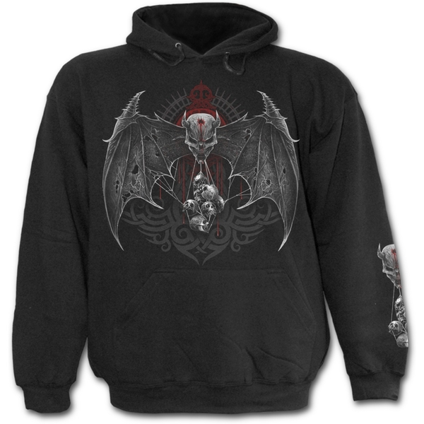 Demon Tribe Men's Small Hoodie - Black