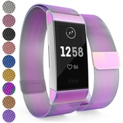 Yousave Activity Tracker Milanese Metal Strap - Multi Coloured