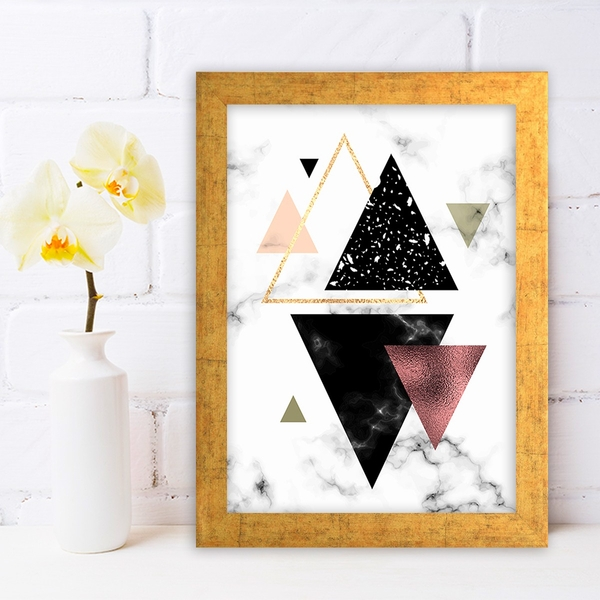 AC614336762 Multicolor Decorative Framed MDF Painting