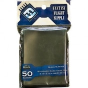 Fantasy Flight Supply 50 Black Standard Sleeves - 10 Packs