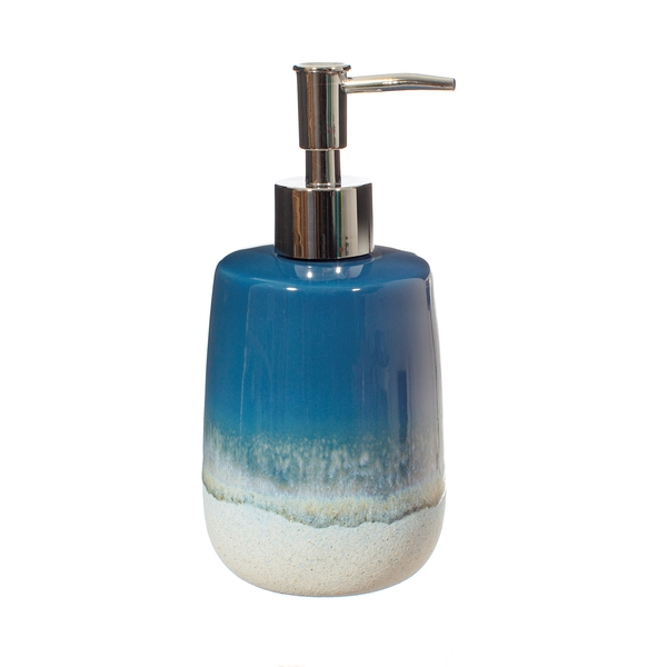 Sass & Belle Mojave Glaze Blue Soap Dispenser