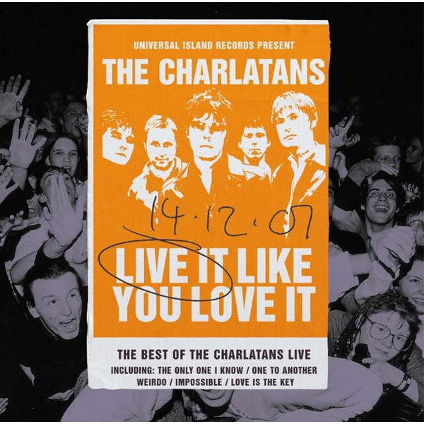 The Charlatans - Live It Like You Love It Vinyl
