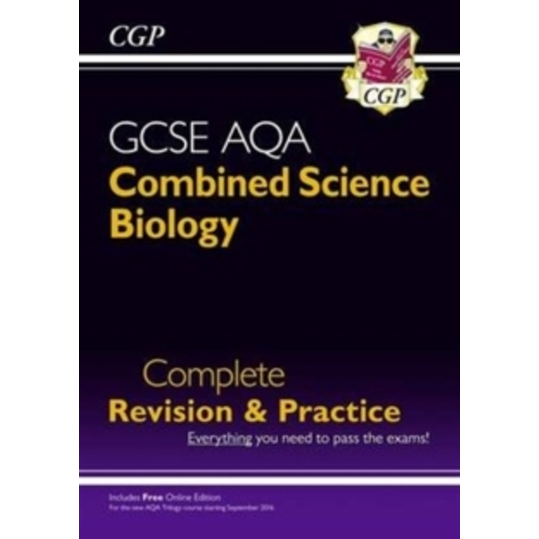 New Grade 9-1 GCSE Combined Science: Biology AQA Complete Revision & Practice with Online Edition by CGP Books (Paperback, 2016)