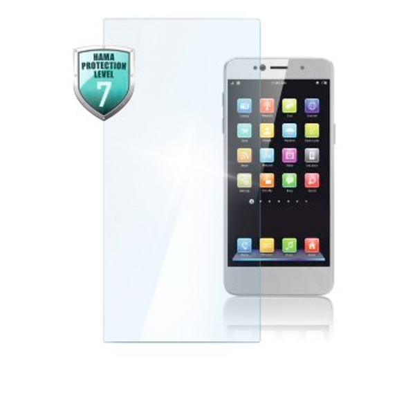 """Hama """"Universal"""" Real Glass Screen Protector for Smartph. with 5.3""""-5.5"""" Display"""