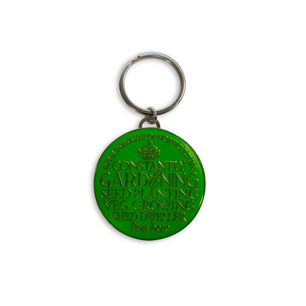 Gardener Keyring By Heaven Sends