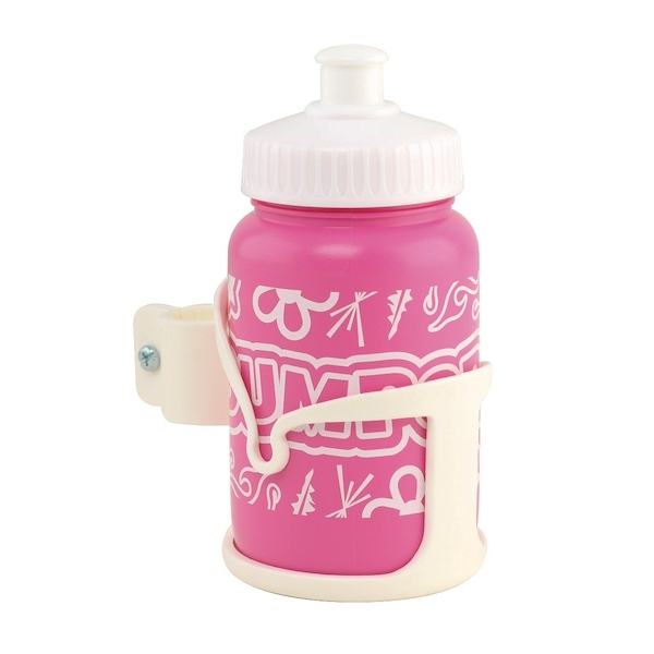Bumper Bottle and Cage set Pink