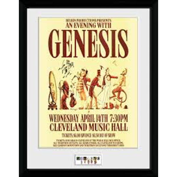 Genesis - Cleveland Collector Print
