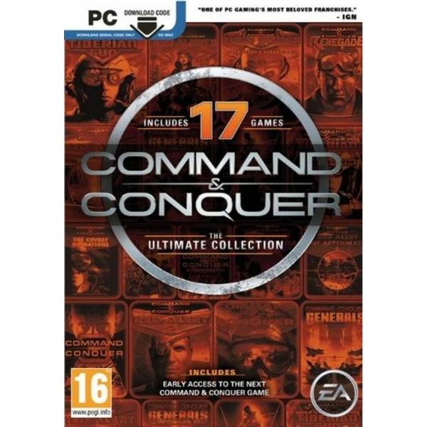 Command and Conquer Ultimate Edition Game PC