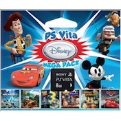 Sony PlayStation Vita Disney Mega Pack + 8GB Memory Card PS Vita