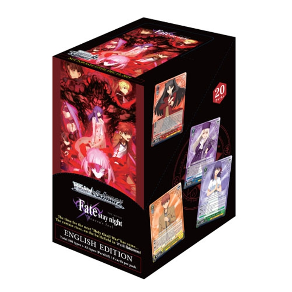 Weiss Schwarz Trading Card Fate Stay Night: Heaven's Feel Booster Box (20 Packs)