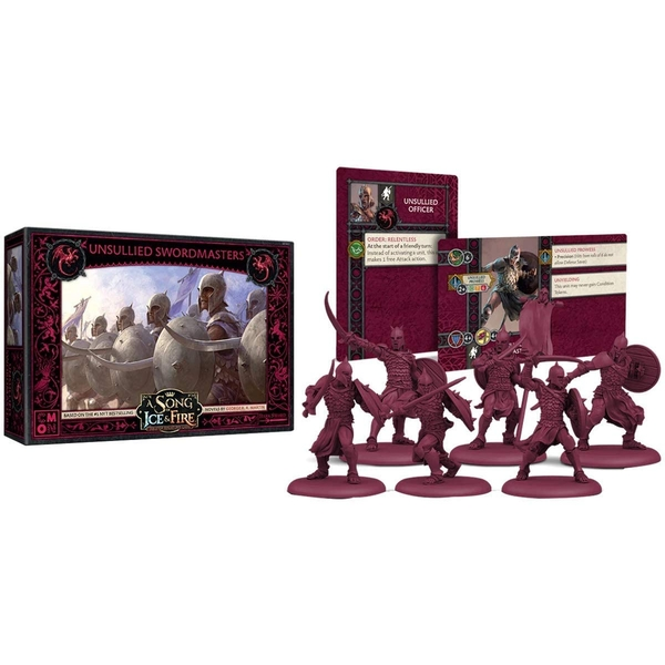 Targaryen Unsullied Swordsmen: A Song Of Ice and Fire Expansion Board Game