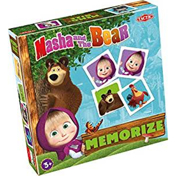 Masha and the Bear - Memorize Card Game