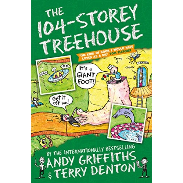 The 104-Storey Treehouse  Paperback / softback 2018