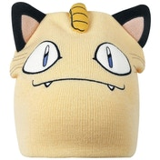 Pokemon Unisex Meowth Face & Ears Cuffless Beanie