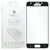 CASEFLEX SAMSUNG GALAXY J3 (2018) TEMPERED GLASS (SINGLE) - BLACK EDGE