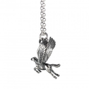 Sterling Silver Buckbeak Necklace