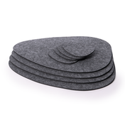 Felt Placemats and Coasters | Pukkr Set of 8