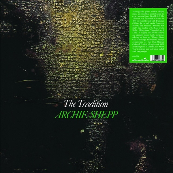 Archie Shepp - The Tradition Vinyl