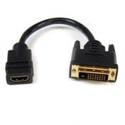 8in HDMI to DVI-D Video Cable Adapter - HDMI Female to DVI Male
