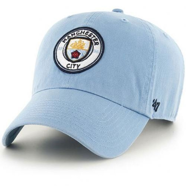 Manchester City FC 47 Clean Up Blue Cap