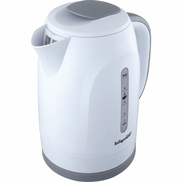 Infapower X505 1.8L 360 Degree Cordless Kettle 2200w - White UK Plug