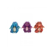 Three Wise Dragonlings Figurines