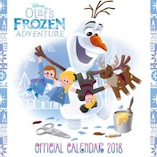 Disney Frozen: Olafs Adventure Official 2018 Calendar Square Wall Format