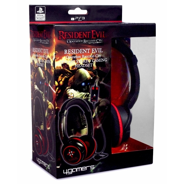 Resident Evil Operation Raccoon City Game + CP-CAP2 Stereo Gaming Headset PS3 - Image 4
