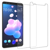CASEFLEX HTC U12 TEMPERED GLASS (TWIN PACK) - CLEAR
