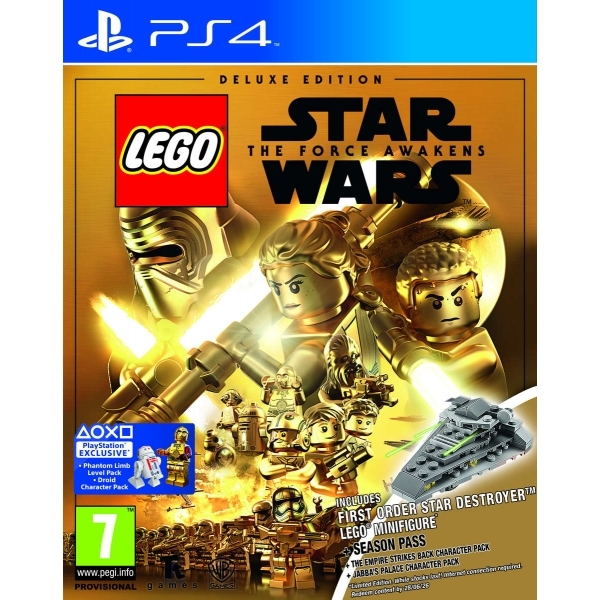 lego star wars the force awakens deluxe edition ps4 game