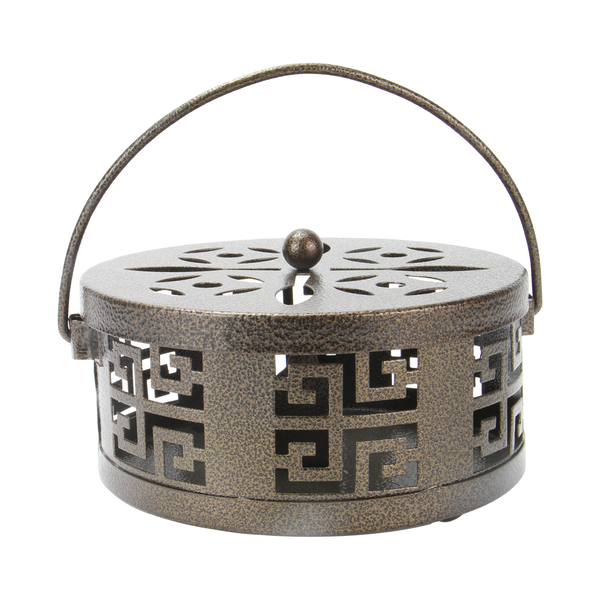 Oriental Metal Incense Holder | M&W Bronze
