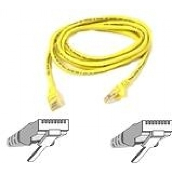 Hey Stay With Us Belkin 2m RJ45 Molded Cat 5e Snagless Patch Cable